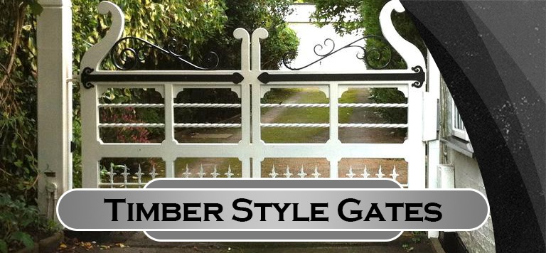Timber Style Gates
